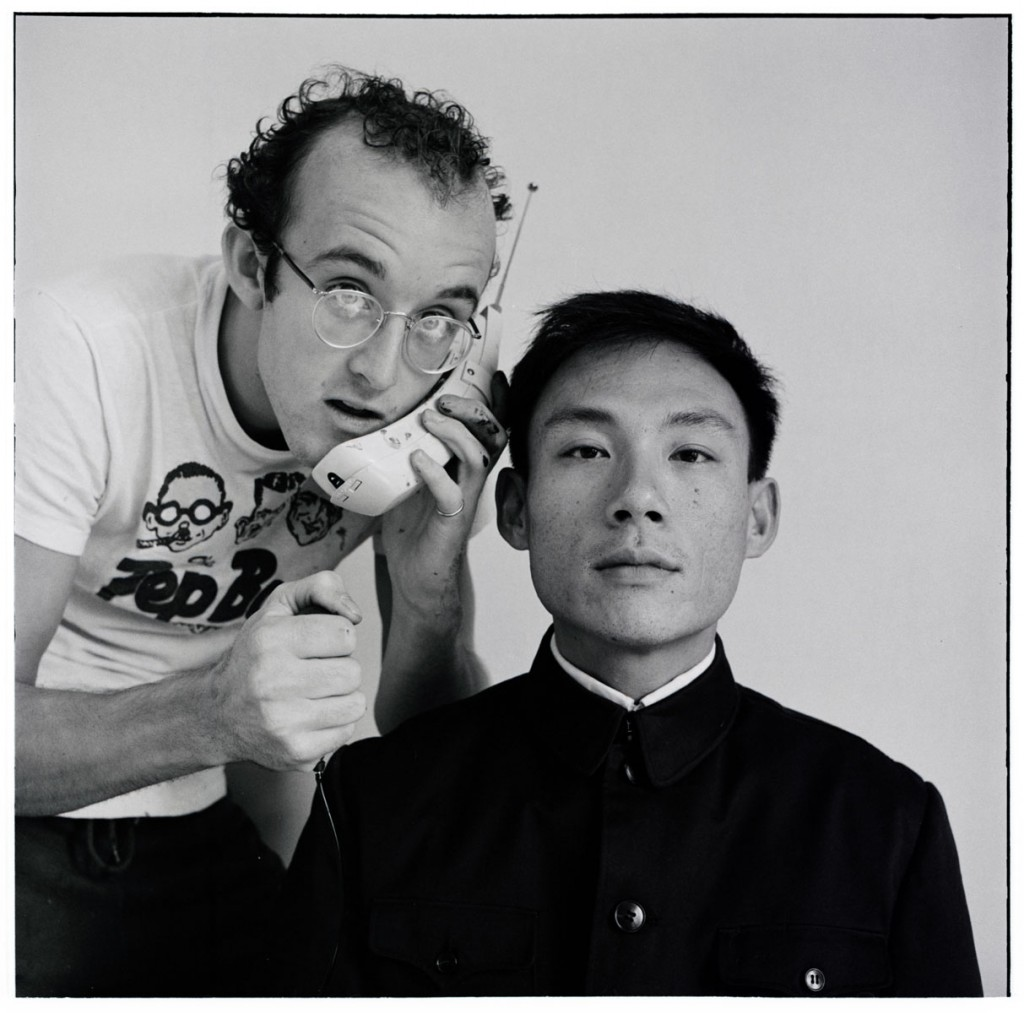 Tseng Kwong Chi and Keith Haring