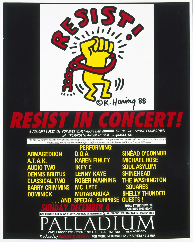 Resist in Concert!
