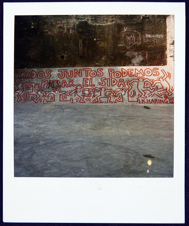 AIDS mural Barcelona