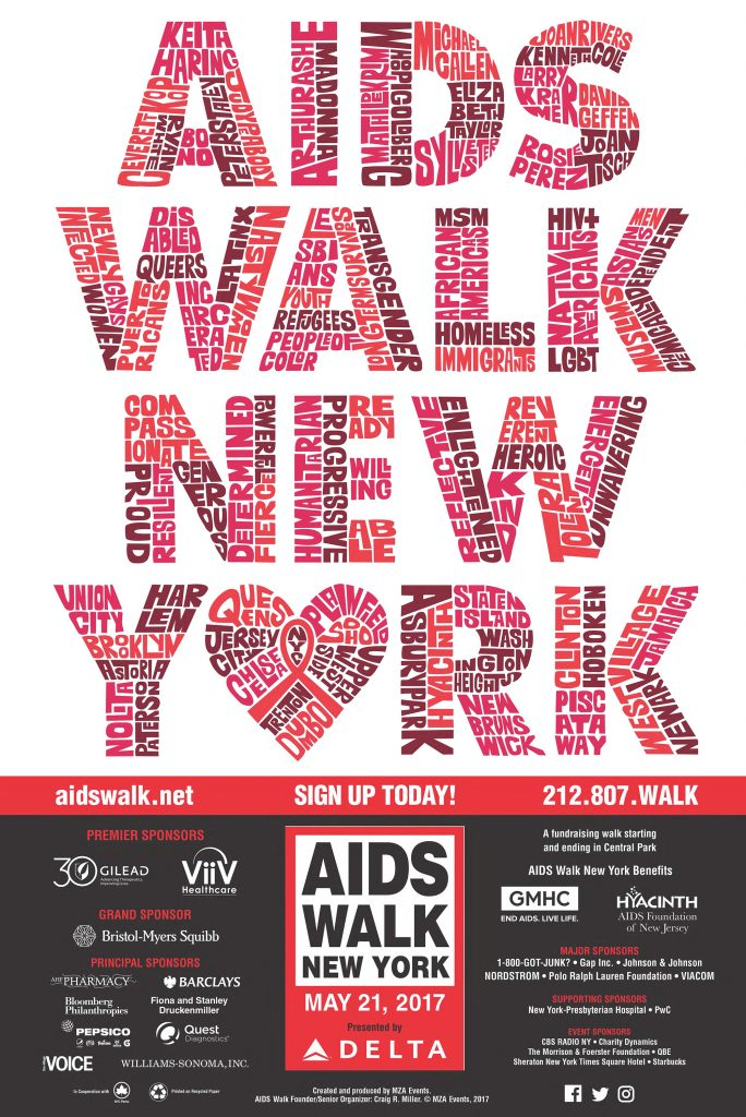 AIDS Walk New York, 2017