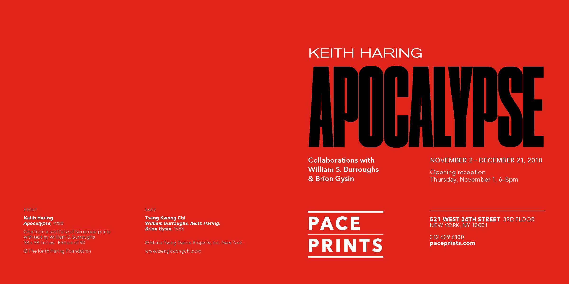 Pace Prints Apocalypse